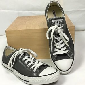 Converse Unisex Sneakers Gray Mens/ 10 Womens/ 12